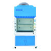 Fume Hood medical and health bright lab laboratory indoor with instruments test tubes