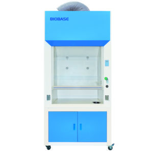 Ducted Fume Hood medical and health bright lab laboratory indoor with instruments test tubes