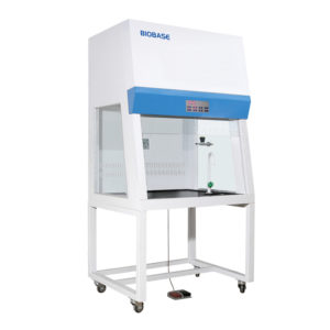 Mobile Fume Hood medical and health bright lab laboratory indoor with instruments test tubes