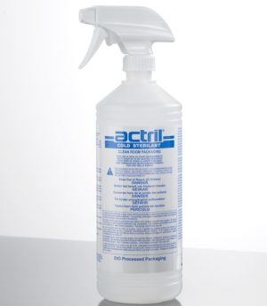 actril minncare surface disinfection sporicide bacteria hospital pharma life science onboard solutions australia